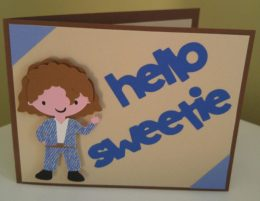Hello sweetie card