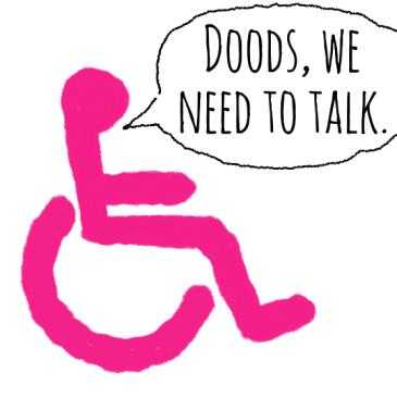 wheelchair-pink