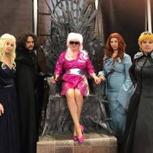 Only the truly outrageous will claim the Iron Throne