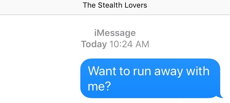 Texting my wip
