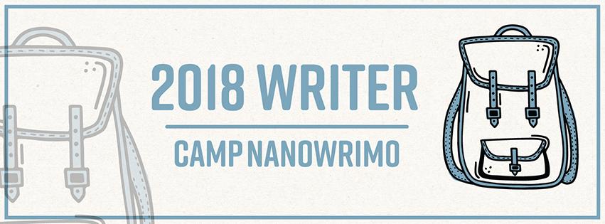 Camp NaNoWriMo banner