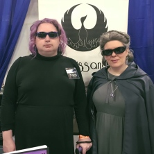 Holdo and Organa on a mission from G-d.